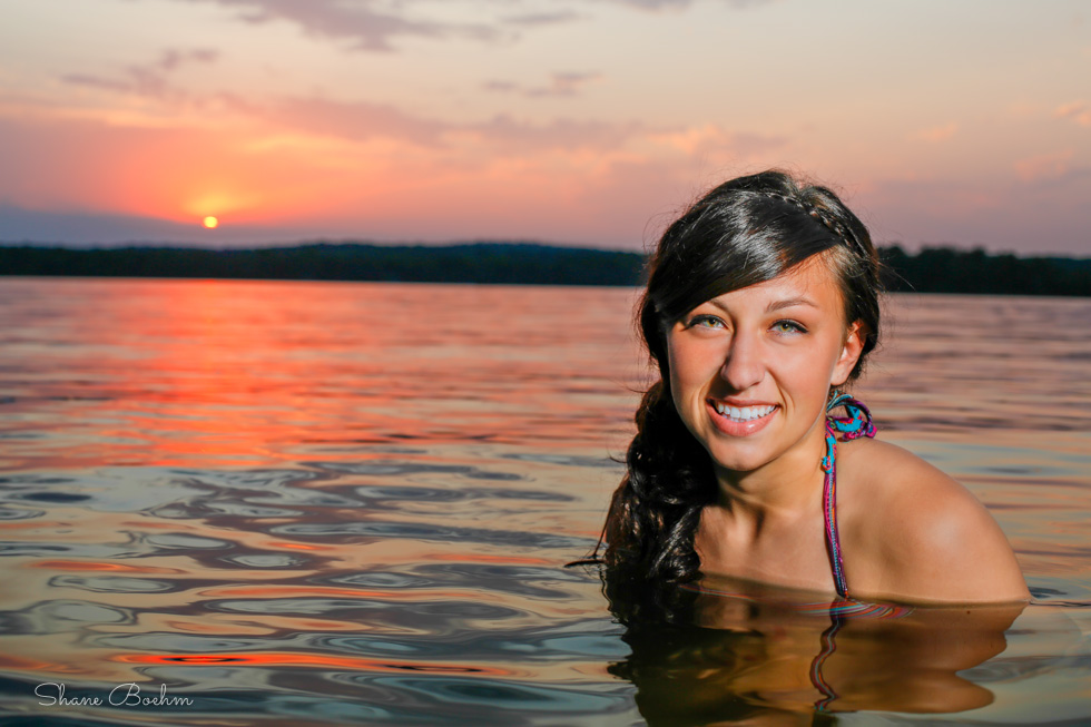 Outdoor Senior | Lake Water Sunset