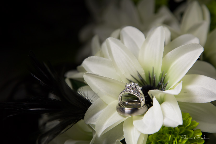 Wedding - Rings and Bouquet