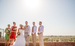 Papago Park Wedding | Wedding Party | Phoenix, AZ