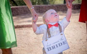 Papago Park Wedding | Ring Bearer | Phoenix, AZ