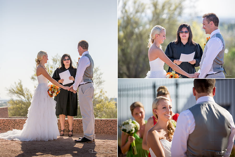 Papago Park Wedding | Ceremonie | Phoenix, AZ