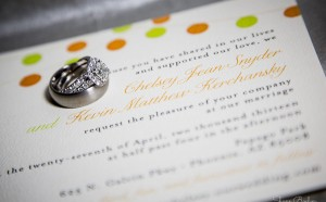 Papago Park Wedding | Rings & Invitation | Phoenix, AZ