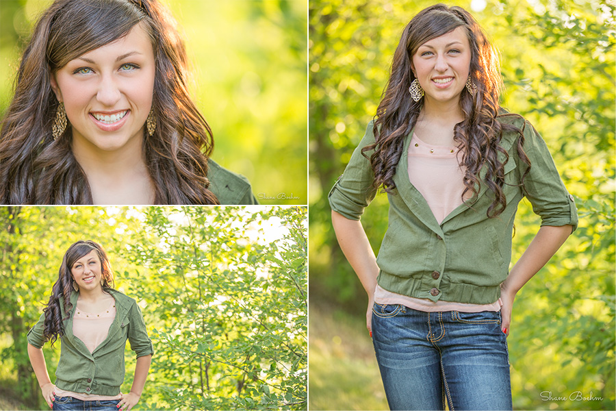 Outdoor Senior - Backlit Yellow with Jeans